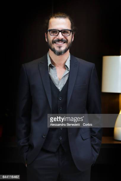Mehmet Gunsur attends the Photocall of movie Rosso Istanbul on February 23 2017 in Rome Italy