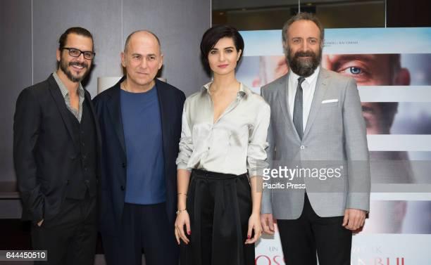 Mehmet Gunsur Ferzan Ozpetek Tuba Buyukustun and Halit Ergenc attends the photocall of ' Rosso Instambul'
