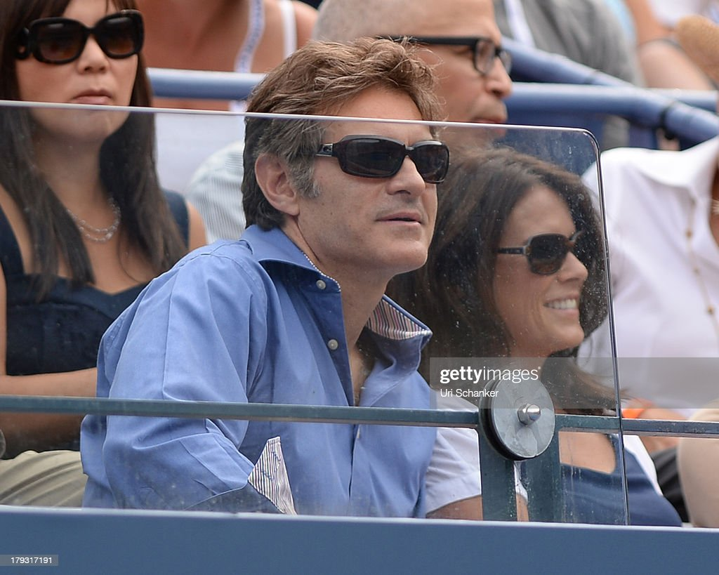 Mehmet Oz attends the 2013 US Open at USTA Billie Jean King National Tennis Center on September 1, 2013 in New York City.