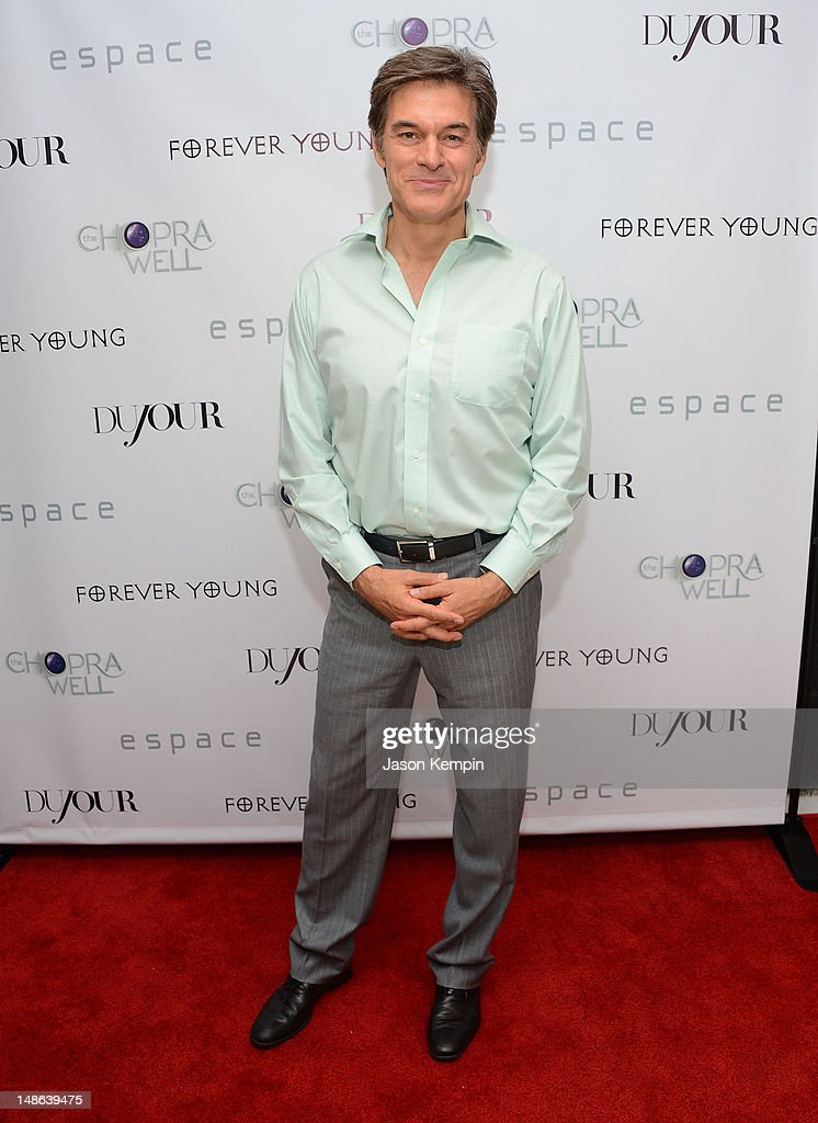 Mehmet Oz attends The Chopra Well Launch Event at Espace on July 18, 2012 in New York City.