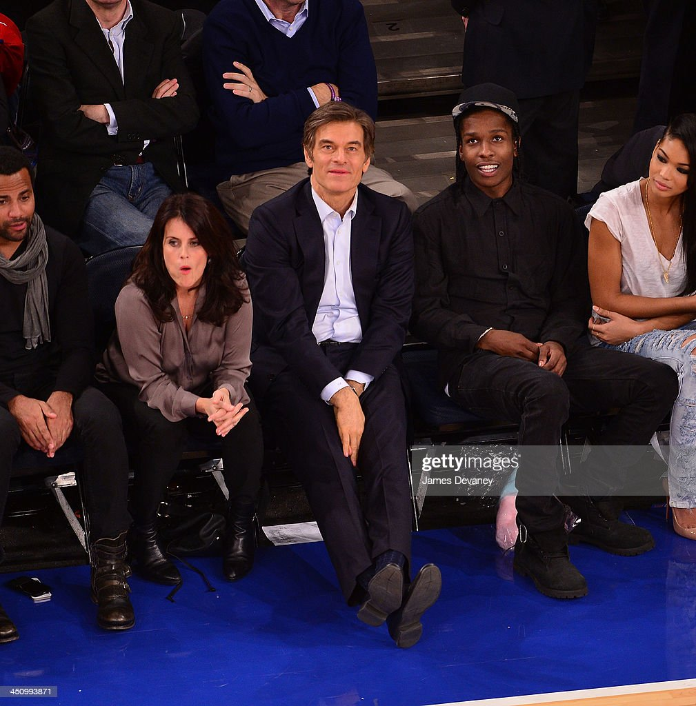 Mehmet Oz attends the Indiana Pacers vs New York Knicks game at Madison Square Garden on November 20, 2013 in New York City.