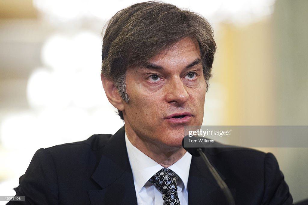 Mehmet Oz, host of the Dr. Oz Show, testifies at a Consumer Protection, Product Safety, and Insurance Subcommittee hearing in Russell Building titled 'Protecting Consumers from False and Deceptive Advertising of Weight-Loss Products,' June 17, 2014.