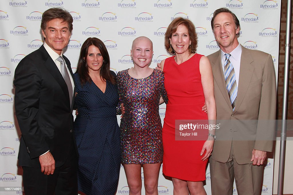 Mehmet Oz, Lisa Oz, Nicole Graham, Bruce Graham, and Michele Graham attend the Blythedale Children's Hospital's 6th annual Spring Fundraiser at The Lighthouse at Chelsea Piers on April 16, 2013 in New York City.