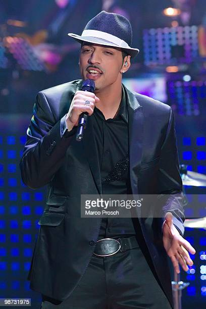 Mehrzad Marashi performs during the 'Let's Dance' TV show at Studios Adlershof on April 23 2010 in Berlin Germany
