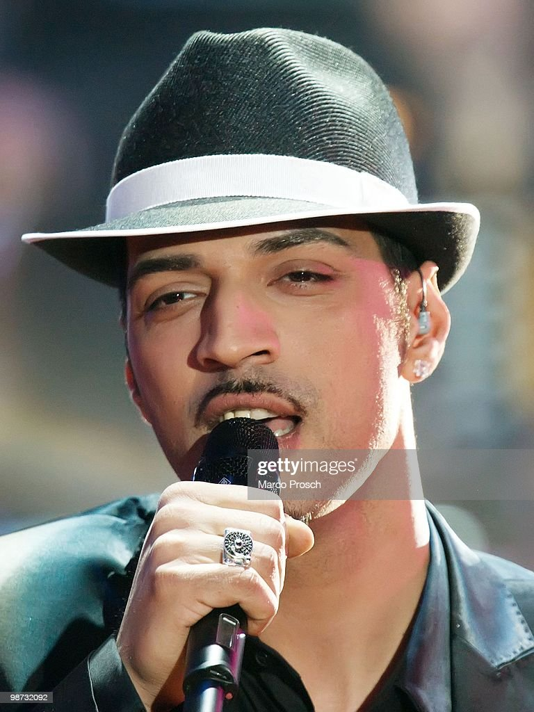 Mehrzad Marashi performs during the 'Let's Dance' TV show at Studios Adlershof on April 23, 2010 in Berlin, Germany.