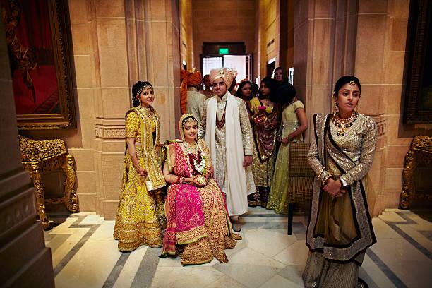 India Tradition Wedding Of Priyanka Choksi And Akash Mehta In Jodhpur