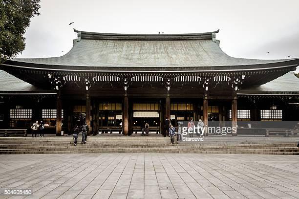 Santuário de Meiji-jingu em Tóquio, Japão