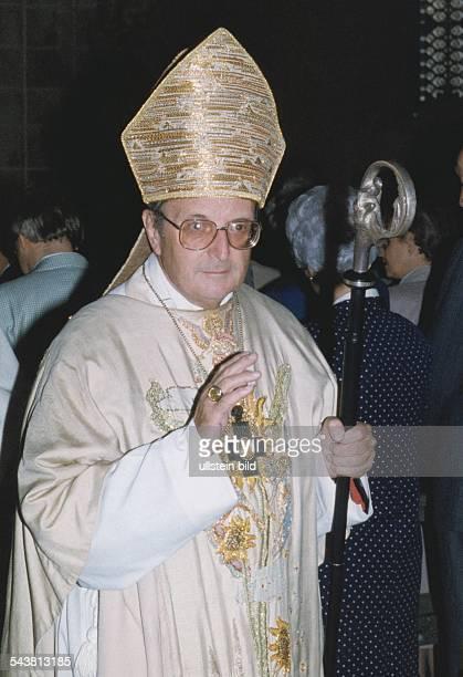 Meisner Joachim Kardinal *Erzbischof von Koeln D Portrait undatiert
