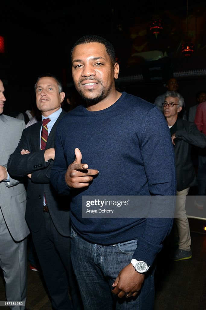 <a gi-track='captionPersonalityLinkClicked' href=/galleries/search?phrase=Mekhi+Phifer&family=editorial&specificpeople=213382 ng-click='$event.stopPropagation()'>Mekhi Phifer</a> attends the Emmett/Furla/Oasis Films hosts celebration for the upcoming production of 'Tupac' at Zanzibar on November 7, 2013 in Santa Monica, California.