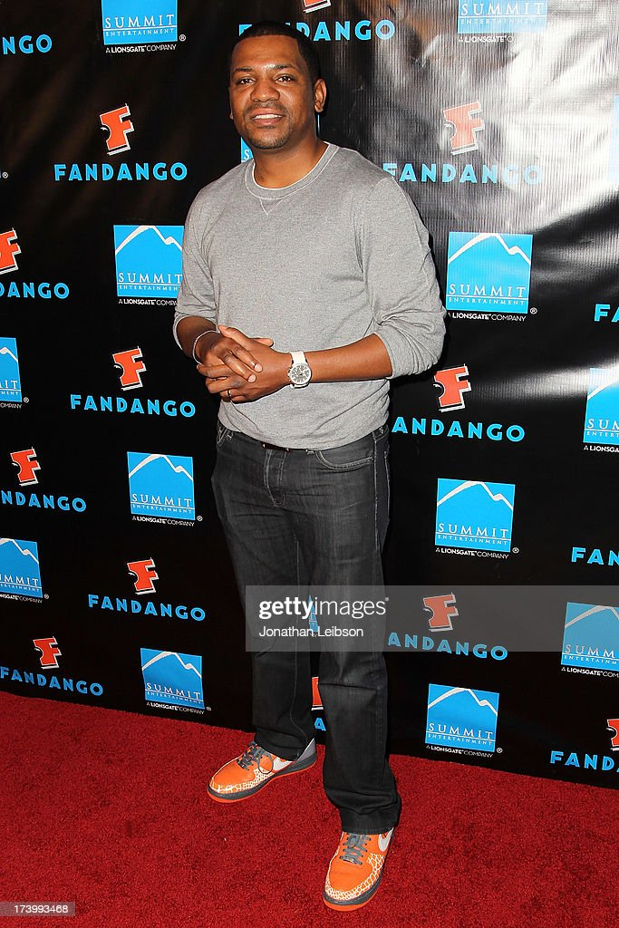 Mekhi Phifer attends the Summit Entertainment's Comic-Con Red Carpet Press Event - Comic-Con International 2013 at Hard Rock Hotel San Diego on July 18, 2013 in San Diego, California.