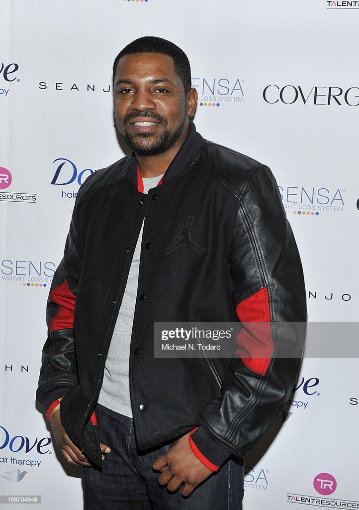 Mekhi Phifer attends the TR Suites Daytime Lounge - Day 1 on January 18, 2013 in Park City, Utah.