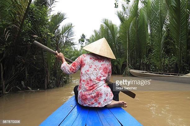 Mekong Delta. Vietnam