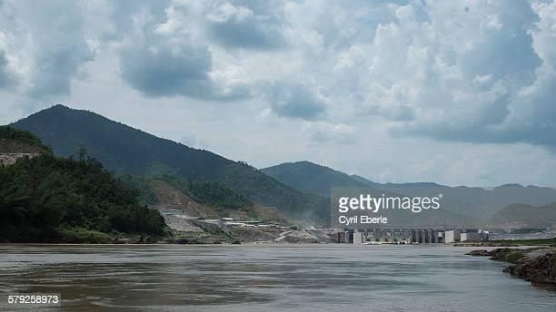 Mekong River Xayaburi Dam
