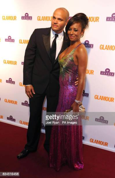 Mel B and husband Stephen Belafonte arrive for the 2008 Glamour Women of the Year Awards at Berkeley Square Gardens in central London