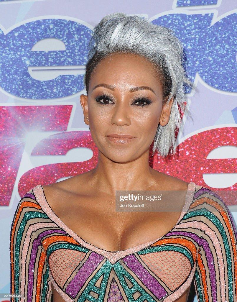 Americas got talent 2017 nz - Mel B Arrives At Nbc S America S Got Talent Season 12 Live Show At Dolby