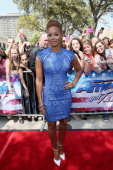 Mel B arrives at the America's Got Talent audtions at the Lila Cockrell Theater on March 20 2013 in San Antonio Texas