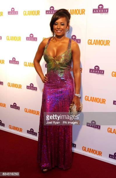 Mel B arrives for the 2008 Glamour Women of the Year Awards at Berkeley Square Gardens in central London
