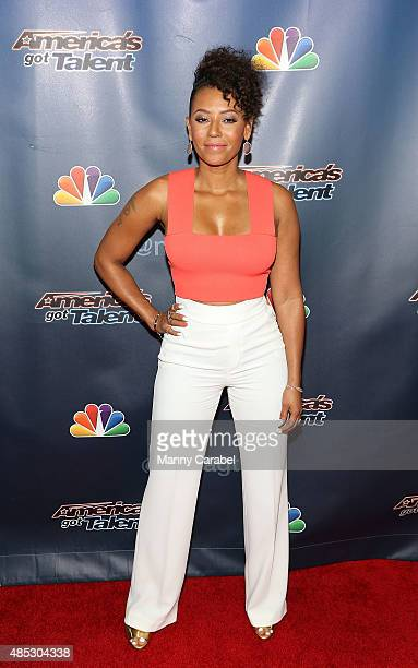 Mel B attends 'America's Got Talent' PostShow Red Carpet Event at Radio City Music Hall on August 26 2015 in New York City