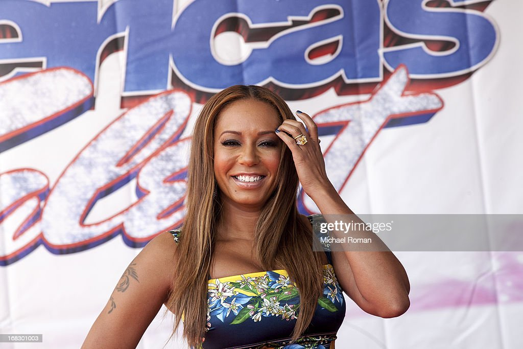 Mel B attends 'America's Got Talent' Season 8 Meet The Judges Red Carpet Event at Akoo Theatre at Rosemont on May 8, 2013 in Rosemont, Illinois.