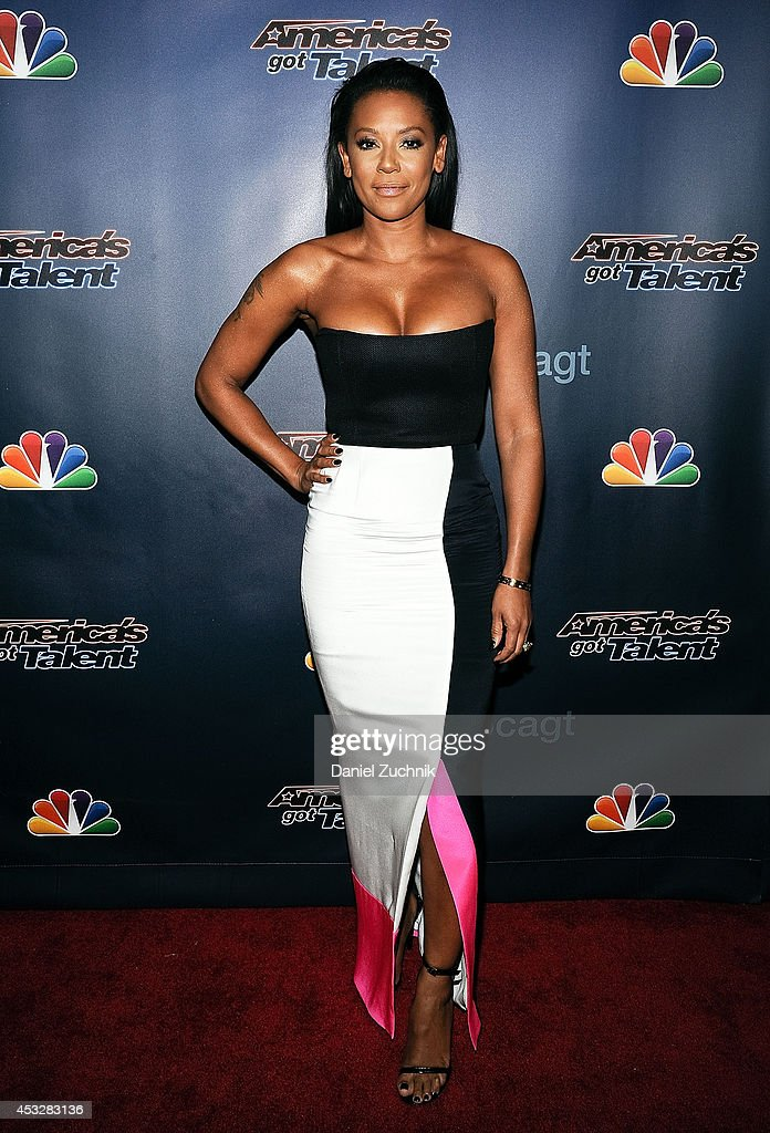Mel B attends 'America's Got Talent' season 9 post show red carpet event at Radio City Music Hall on August 6, 2014 in New York City.