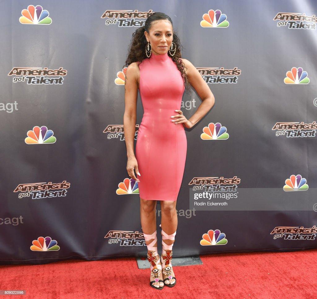 Americas got talent 2017 nz - Mel B Attends Nbc S America S Got Talent Judge Cut Rounds At Nbc Universal Lot
