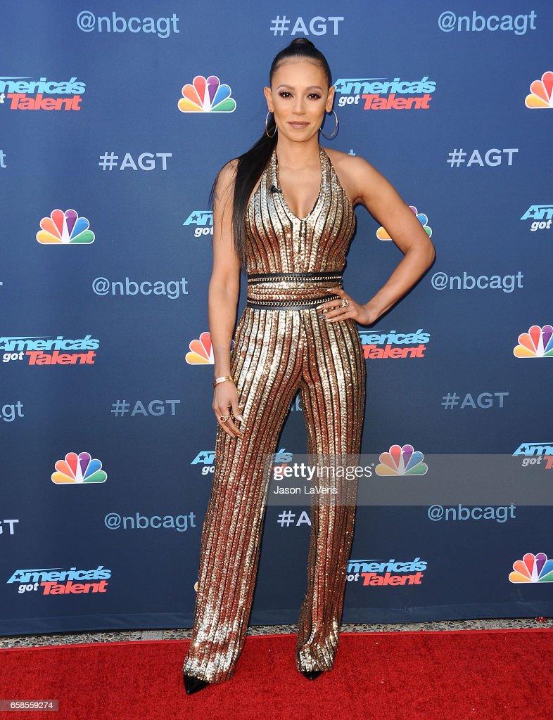 Americas got talent 2017 nz - Mel B Attends Nbc S America S Got Talent Season 12 Kickoff At Pasadena Civic Auditorium