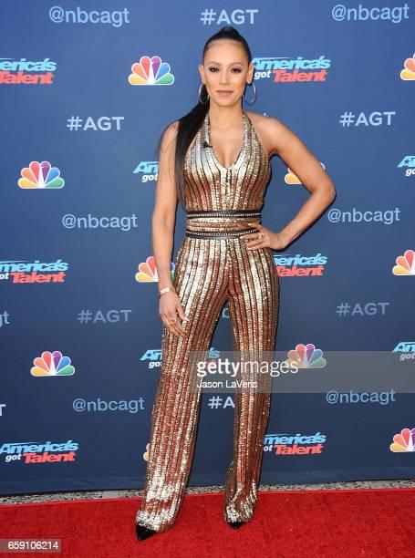 Mel B attends NBC's 'America's Got Talent' season 12 kickoff at Pasadena Civic Auditorium on March 27 2017 in Pasadena California