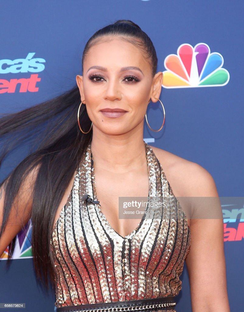 Americas got talent 2017 nz - Mel B Attends Nbc S America S Got Talent Season 12 Kickoff At The Pasadena Civic