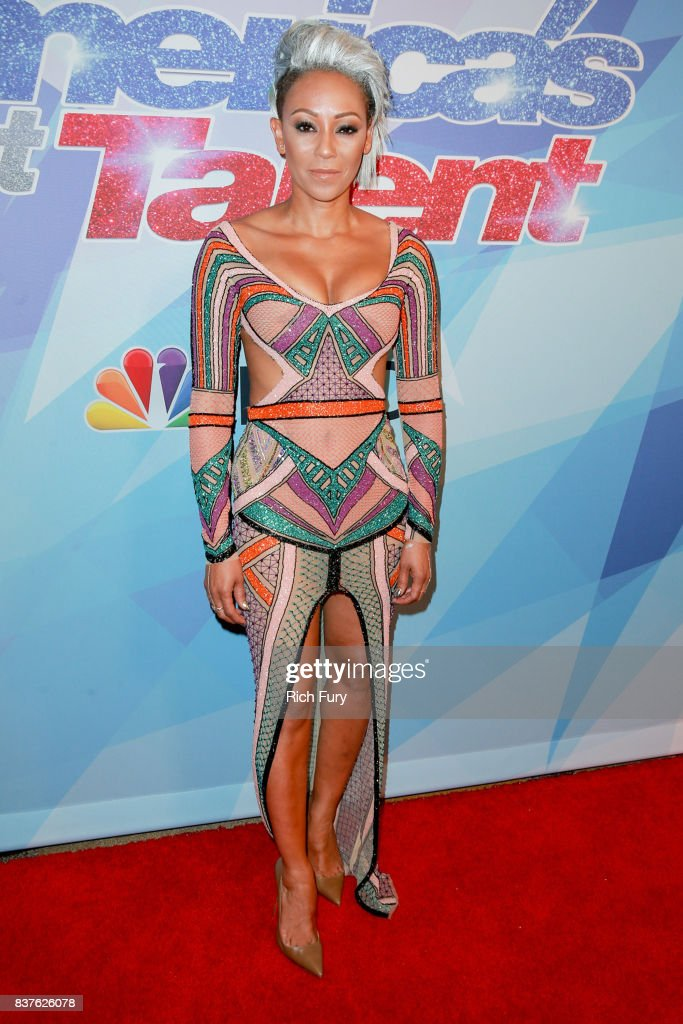 Mel B attends NBC's 'America's Got Talent' Season 12 Live Show at Dolby Theatre on August 22, 2017 in Hollywood, California.