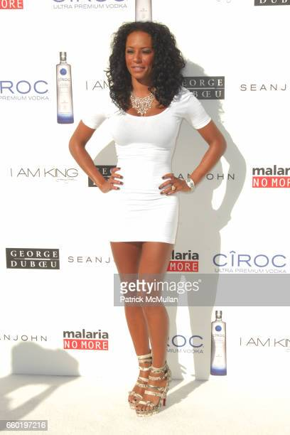 """Mel B attends SEAN """"DIDDY"""" COMBS HOSTS THE ANNUAL WHITE PARTY IN LOS ANGELES at Private Residence on July 4 2009 in Beverly Hills California"""
