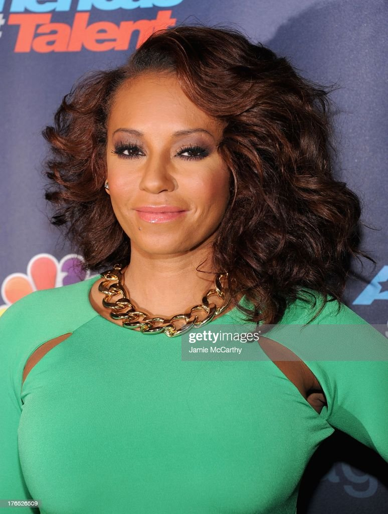 Mel B. attends the 'America's Got Talent' Post Show Red Carpet at Radio City Music Hall on August 14, 2013 in New York City.