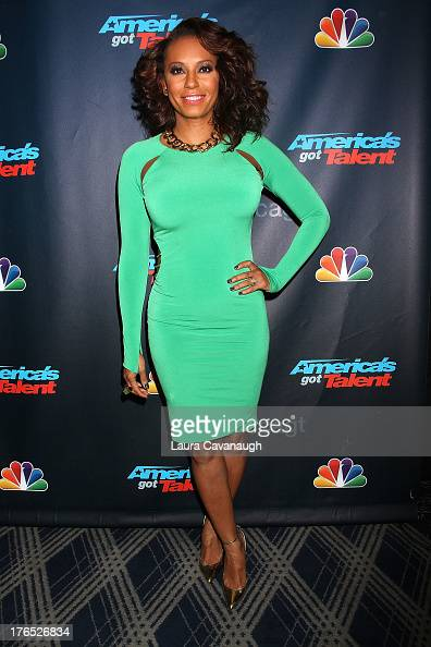 Mel B attends the 'America's Got Talent' Post Show Red Carpet at Radio City Music Hall on August 14 2013 in New York City