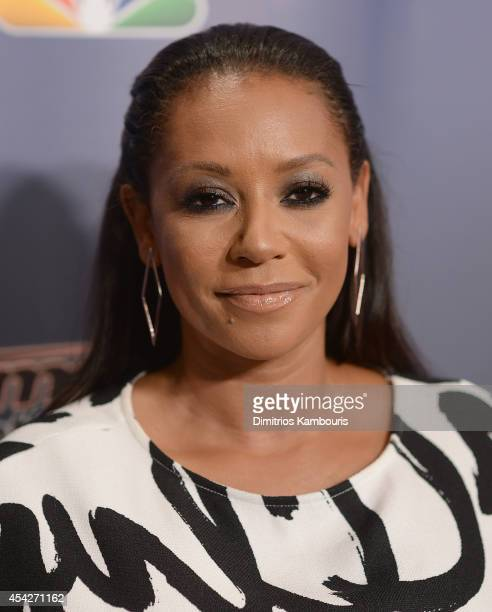 Mel B attends the 'America's Got Talent' PostShow Red Carpet at Radio City Music Hall on August 27 2014 in New York City