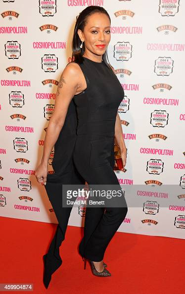 Mel B attends the Cosmopolitan Ultimate Women of the Year Awards at One Mayfair on December 3 2014 in London England
