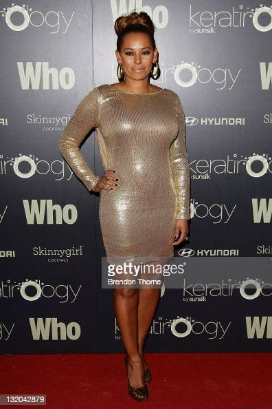 Mel B attends the WHO 'Sexiest People' Party at The Great Hall University of Sydney on November 10 2011 in Sydney Australia