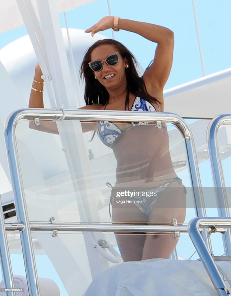 Mel B is seen at the 66th Annual Cannes Film Festival on May 22, 2013 in Cannes, France.