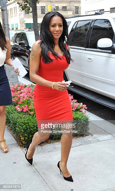 Mel B is seen on July 22 2014 in New York City