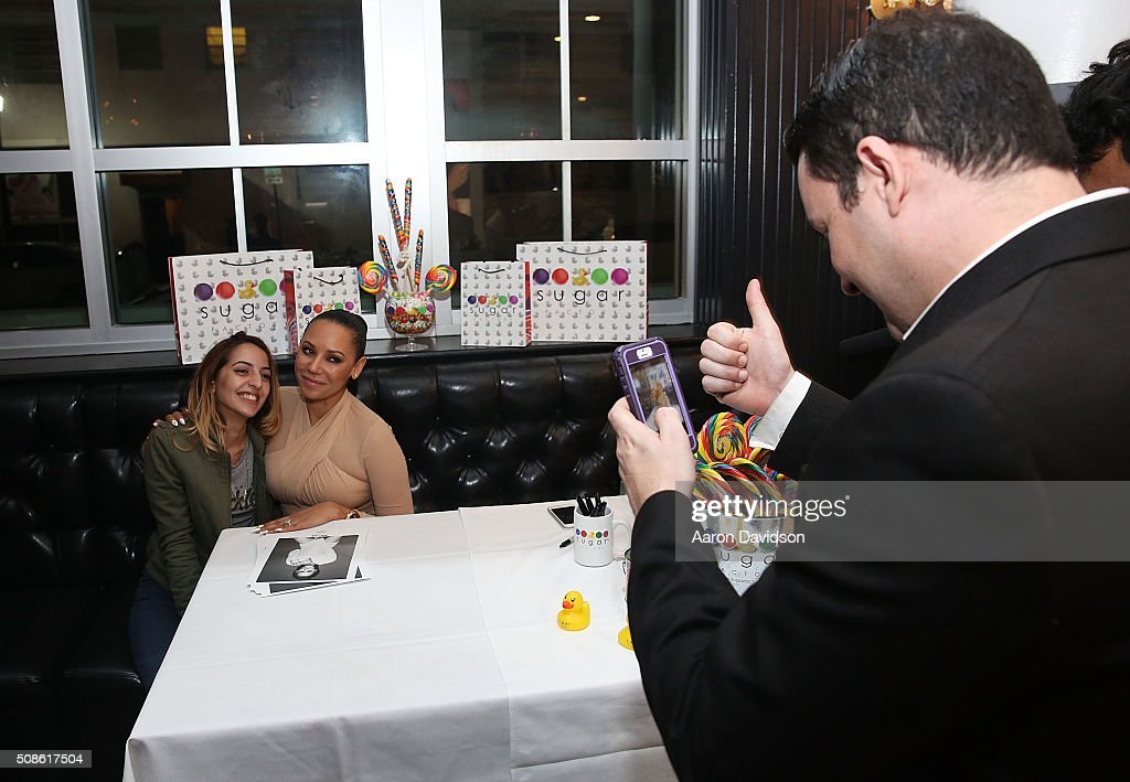 Mel B Meet & Greet at Sugar Factory American Brasserie on February 5, 2016 in Miami, Florida.