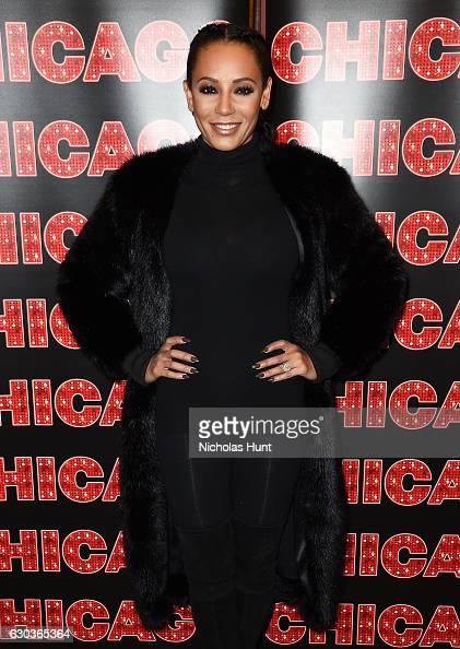 Mel B returns to Broadway's 'Chicago' at Sardi's on December 21 2016 in New York City