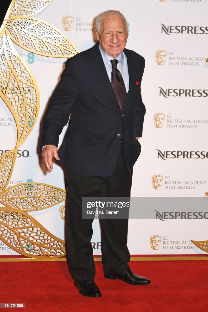 mel-brooks-attends-the-bafta-nominees-party-hosted-by-nespresso-at-picture-id634754566