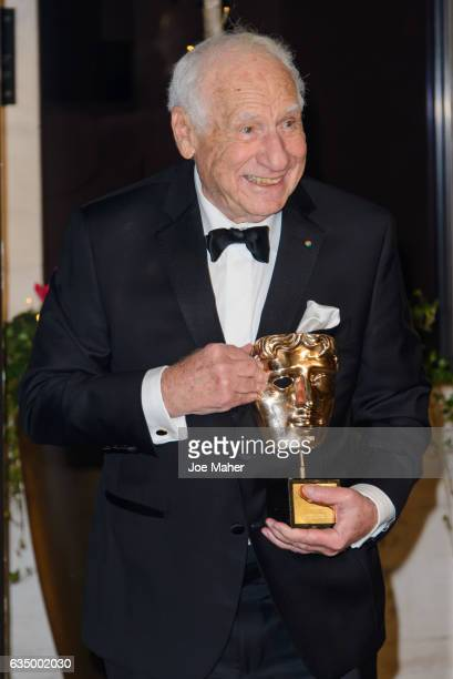Mel Brooks attends the official after party for the 70th EE British Academy Film Awards at The Grosvenor House Hotel on February 12 2017 in London...