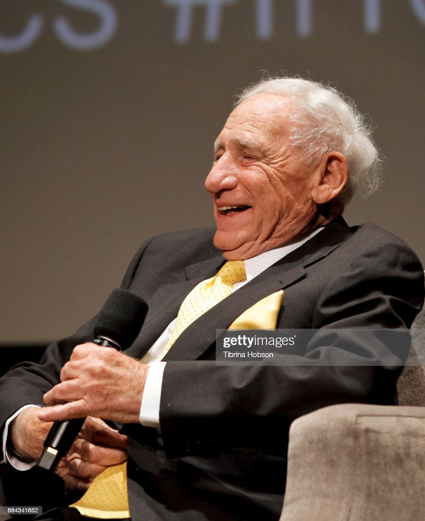 Mel Brooks attends the Premiere Of HBO's 'If You're Not In The Obit, Eat Breakfast' on May 17, 2017 in Beverly Hills, California.