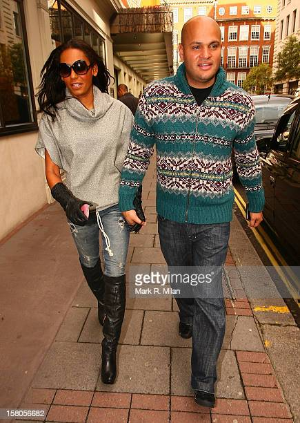 Mel Brown and Stephen Belafonte are seen on October 9 2009 in London England