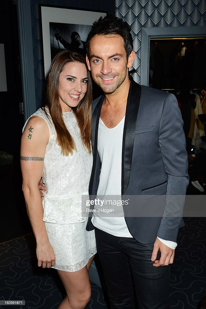 Mel C and Ben Forster attend the afterparty for the press night of Jesus Christ Superstar, the arena tour at The O2 Arena on September 21, 2012 in London, England.