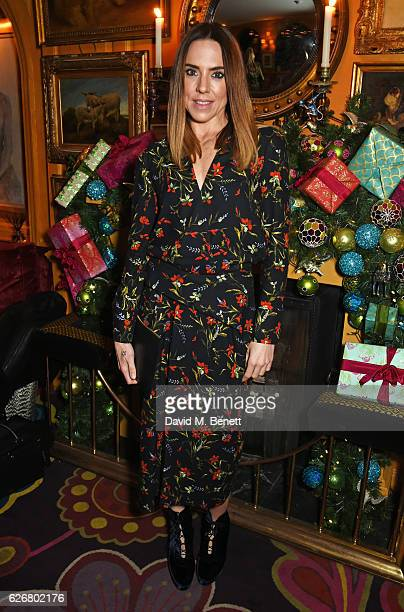 Mel C attends the Sunday Times Style Christmas Party at Annabel's on November 30 2016 in London England