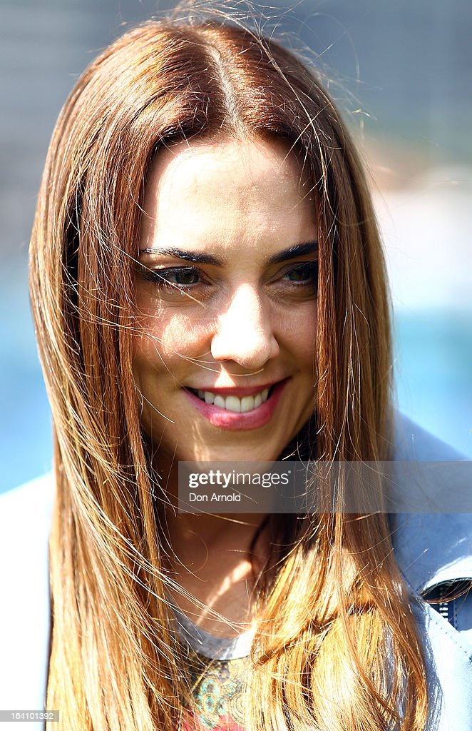 Mel C looks on during a media call for the cast of Jesus Christ Superstar at Hicksons Road Reserve in The Rocks, on March 20, 2013 in Sydney, Australia.