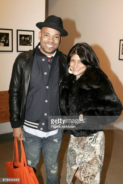 Mel DeBarge and AnneMarie Martinez attend Ron Galella Book Launch Party For Man in the Mirror Michael Jackson and Viva I'Italia at PowerHouse Arena...
