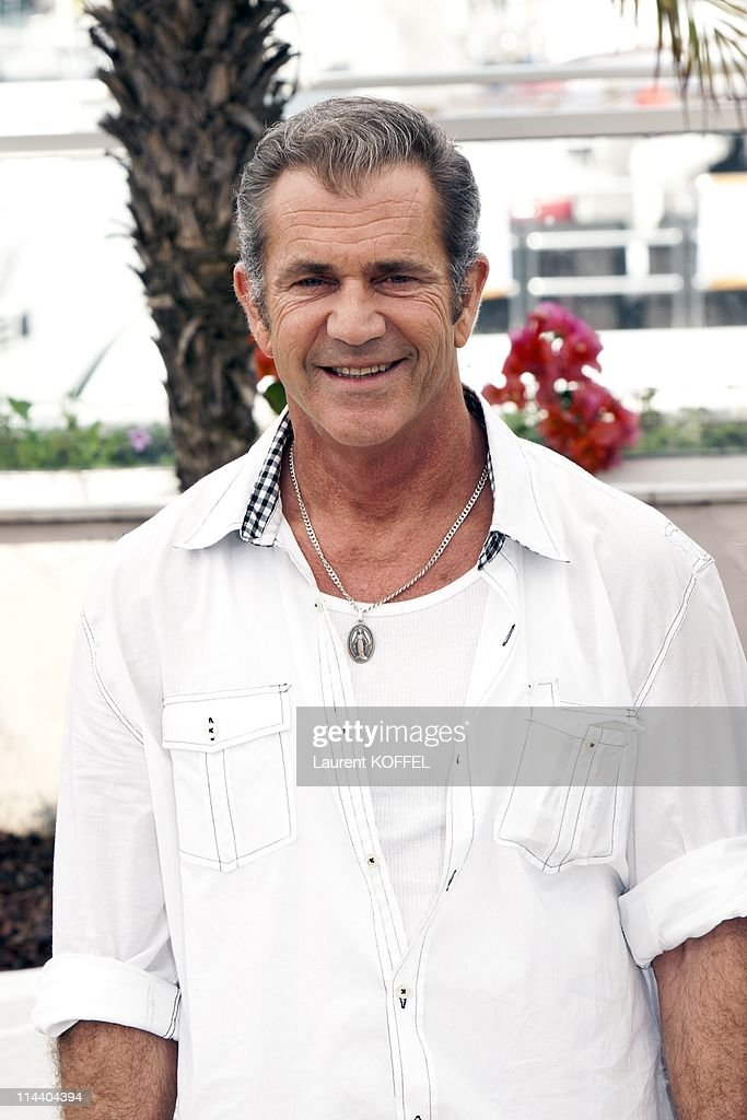 <a gi-track='captionPersonalityLinkClicked' href=/galleries/search?phrase=Mel+Gibson&family=editorial&specificpeople=201512 ng-click='$event.stopPropagation()'>Mel Gibson</a> and Jodie Foster attend 'The Beaver' Photocall during the 64th Cannes Film Festival at Palais des Festivals on May 18, 2011 in Cannes, France.