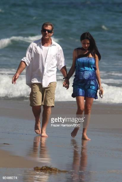 Mel Gibson and Oksana Grigorieva sighting on September 6 2009 in Malibu California
