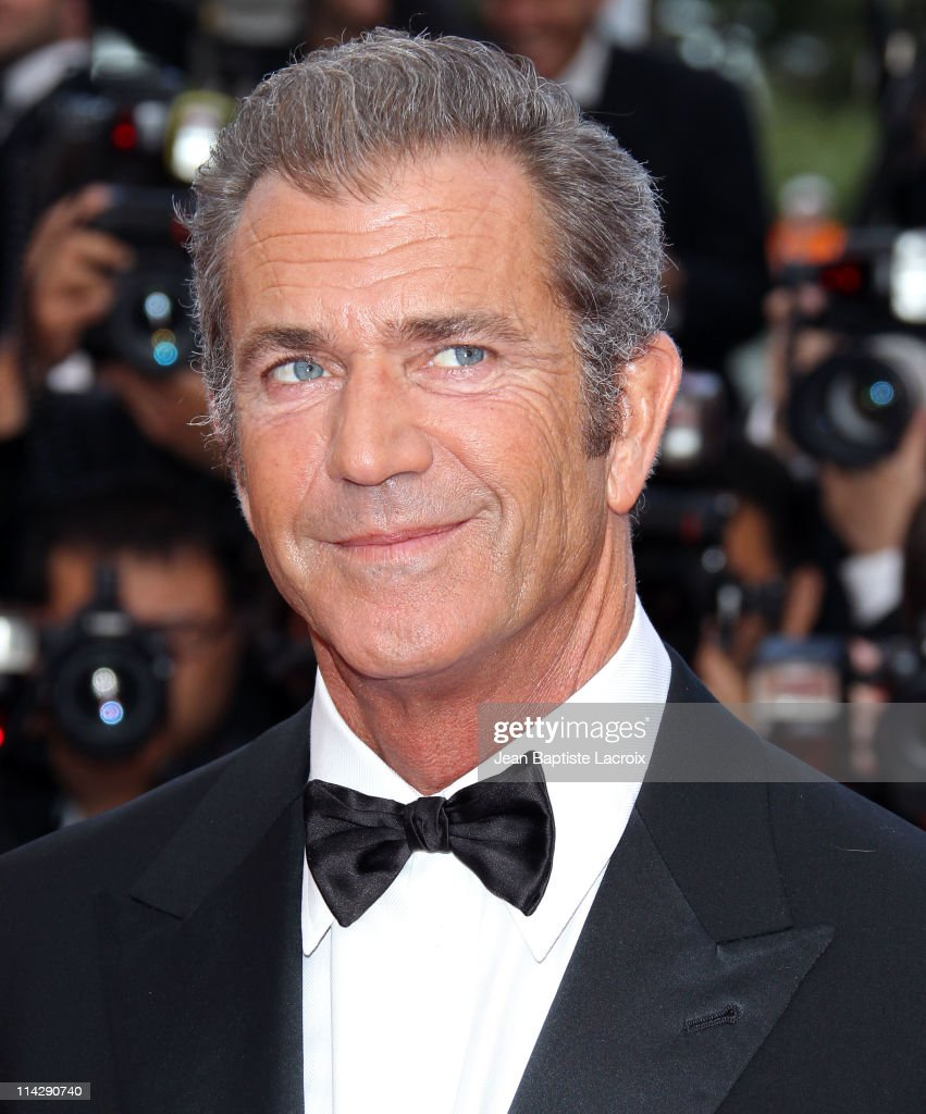 Mel Gibson attends 'The Beaver' Premiere during the 64th Cannes Film Festival at Palais des Festivals on May 17 2011 in Cannes France